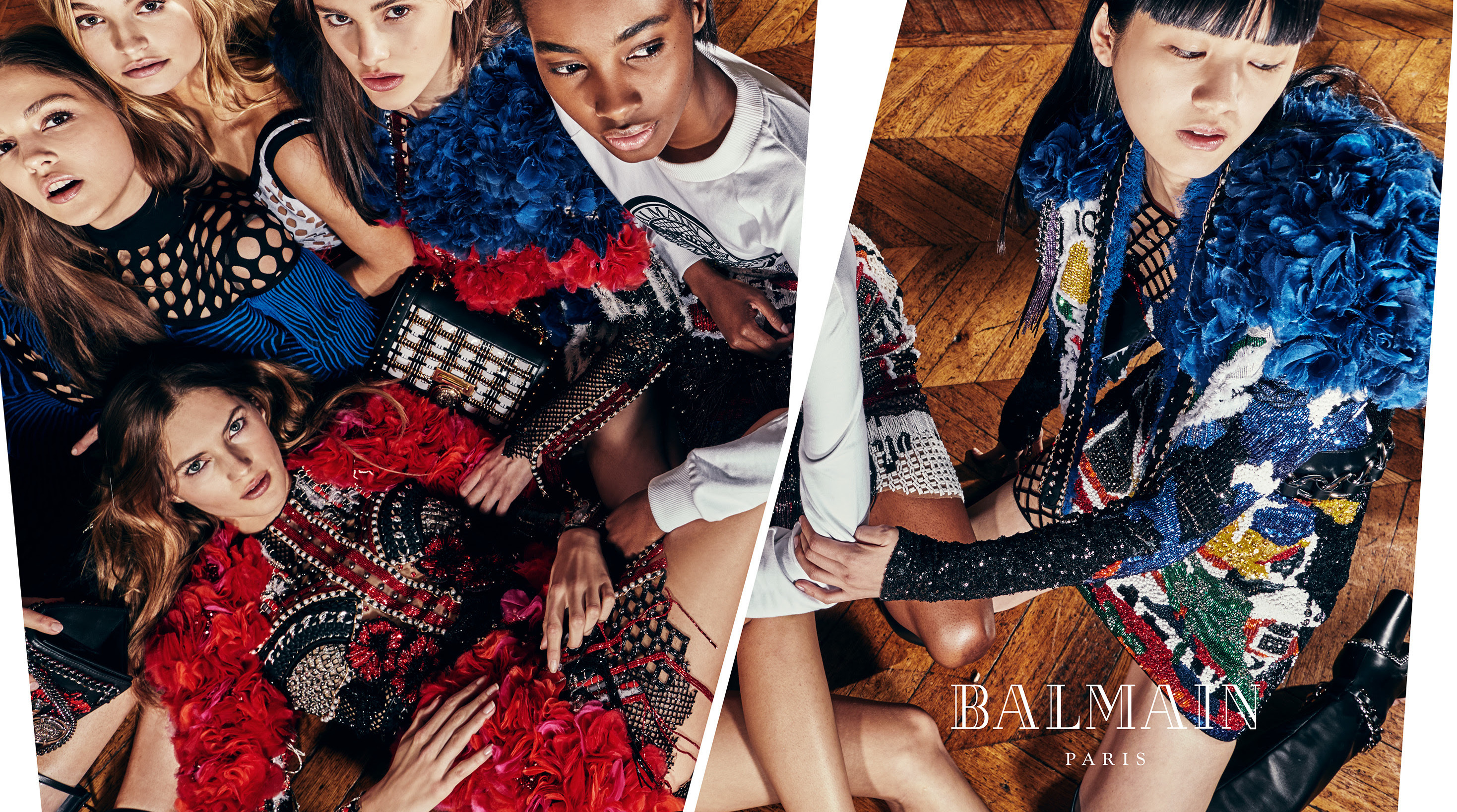 Balmain Unveils Spring/Summer 2018 Advertising Campaign Images