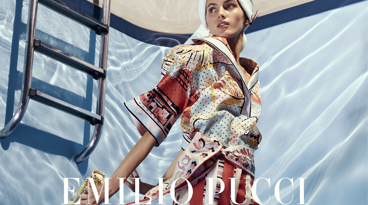 EMILIO PUCCI PRESENTS THE SPRING - SUMMER 2018 CAMPAIGN